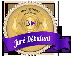 Badge PLIB2022 Juré Débutant